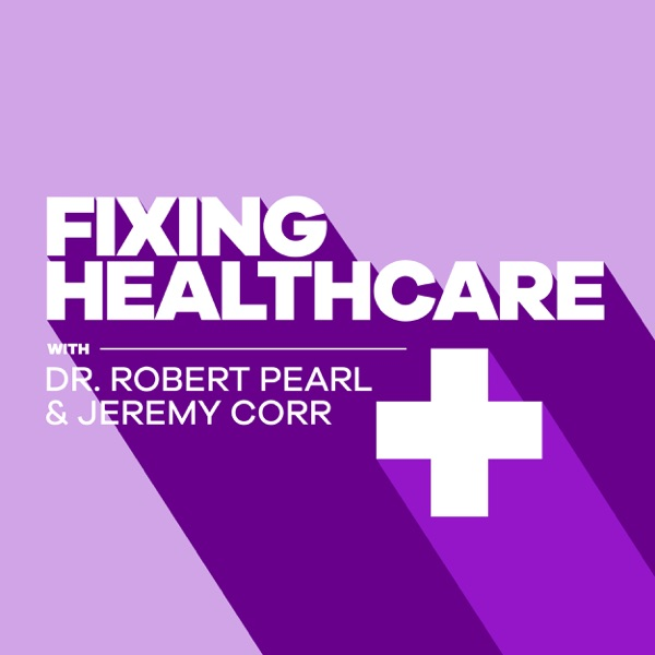 Fixing Healthcare Podcast banner backdrop