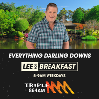 Lee for Breakfast - Triple M Darling Downs 864 podcast
