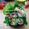 Vegetable Spring Rolls with Peanut Sauce | Vegan, Paleo, Keto artwork