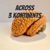 ACROSS 3 KONTINENTS artwork