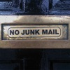 NO JUNK MAIL artwork