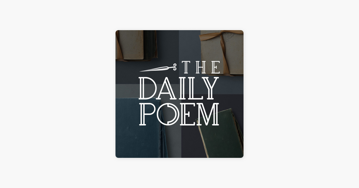 The Daily Poem on Apple Podcasts
