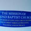 Second Baptist Church-West End 1400 Idlewood ave. artwork