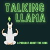 Talking Llama - a podcast about the Sims artwork