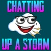 Chatting Up A Storm artwork