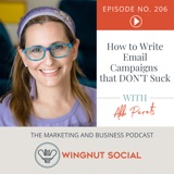 How to Write Email Campaigns that DON'T Suck [with Abbi Perets] - Episode 206
