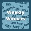 Weekly Winners artwork