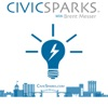 Civic Sparks with Brent Messer artwork