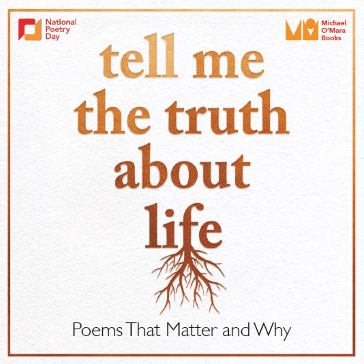 1: Tell Me The Truth About Life: Michael Morpurgo