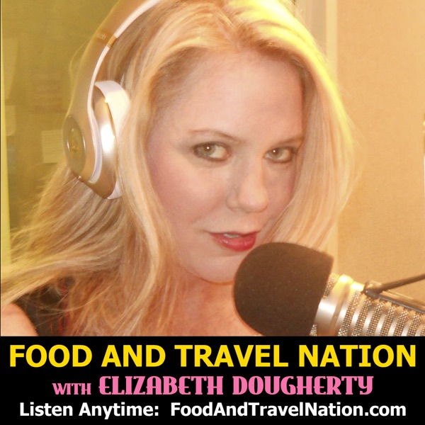 Food And Travel Nation with Elizabeth Dougherty Artwork