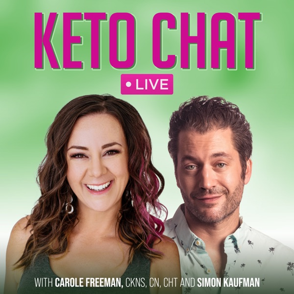 Keto Chat LIVE Podcast Artwork