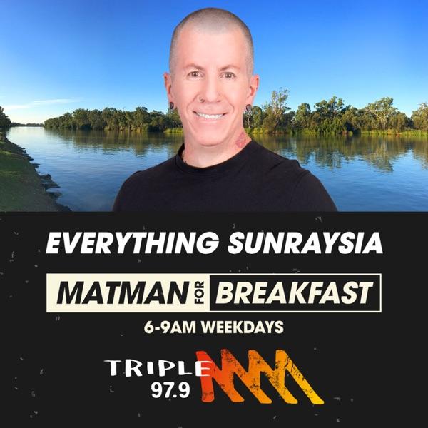 Matman Breakfast Show Catchup – Triple M Sunraysia 97.9 Artwork