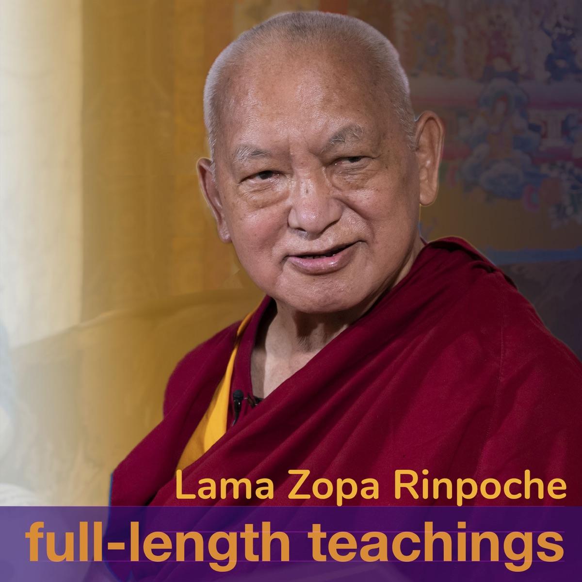 Lama Zopa Rinpoche full length teachings