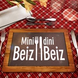 Bildergebnis für mini beiz dini beiz