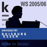 Die kleine Form: Wintersemester 2005/2006 podcast