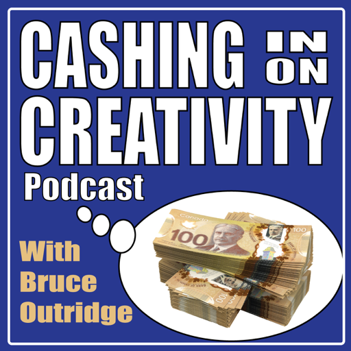 Cover image of Cashing in on Creativity Podcast