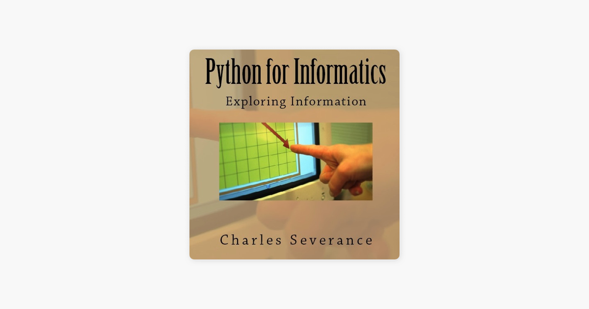 Python for Informatics's official Podcast  on Apple Podcasts