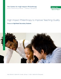 Averting a Train Wreck in Human Capital:  A discussion on teaching quality
