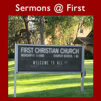 Sermons @ First » Podcast Feed podcast