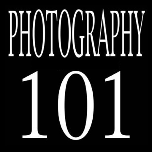 Cover image of PHOTOGRAPHY 101
