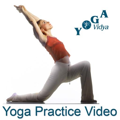 Cover image of Yoga Practice Video - Yoga Vidya