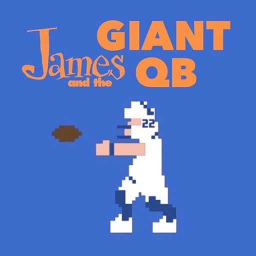 Cover image of James and the Giant QB