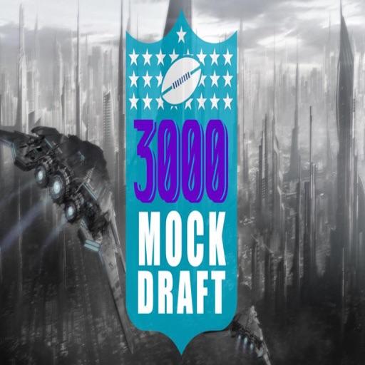Cover image of 3000 NFL Mock Draft