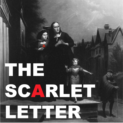 """Cover image of """"The Scarlet Letter"""" Audiobook (Audio book)"""