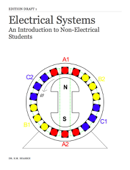 Electrical Systems - An Introduction for Non-Electrical Students