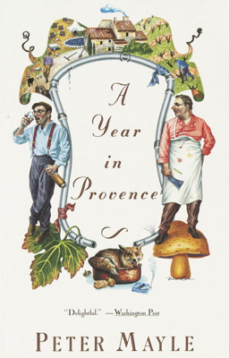 A Year in Provence - Peter Mayle book