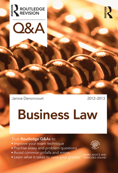 Q&A Business Law