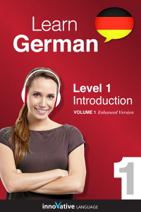 Learn German -  Level 1: Introduction to German (Enhanced Version) Libro Cover