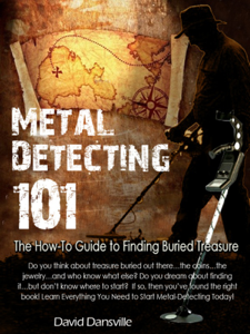 Metal Detecting 101: The How-to Guide to Finding Buried Treasure La couverture du livre martien