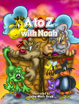 A to Z with Noah - John-Marc Grob book