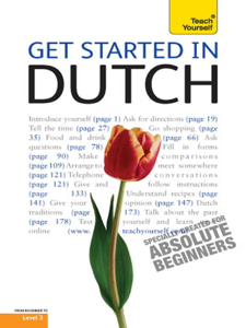 Get Started in Beginner's Dutch: Teach Yourself Boekomslag