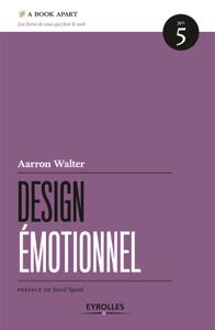 Design émotionnel La couverture du livre martien