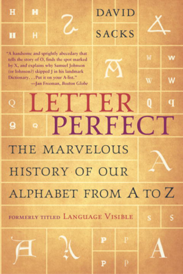 Letter Perfect - David Sacks book