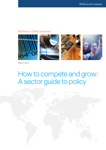 How to Compete and Grow: a Sector Guide to Policy