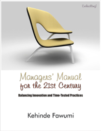 Managers' manual for the 21st century. book