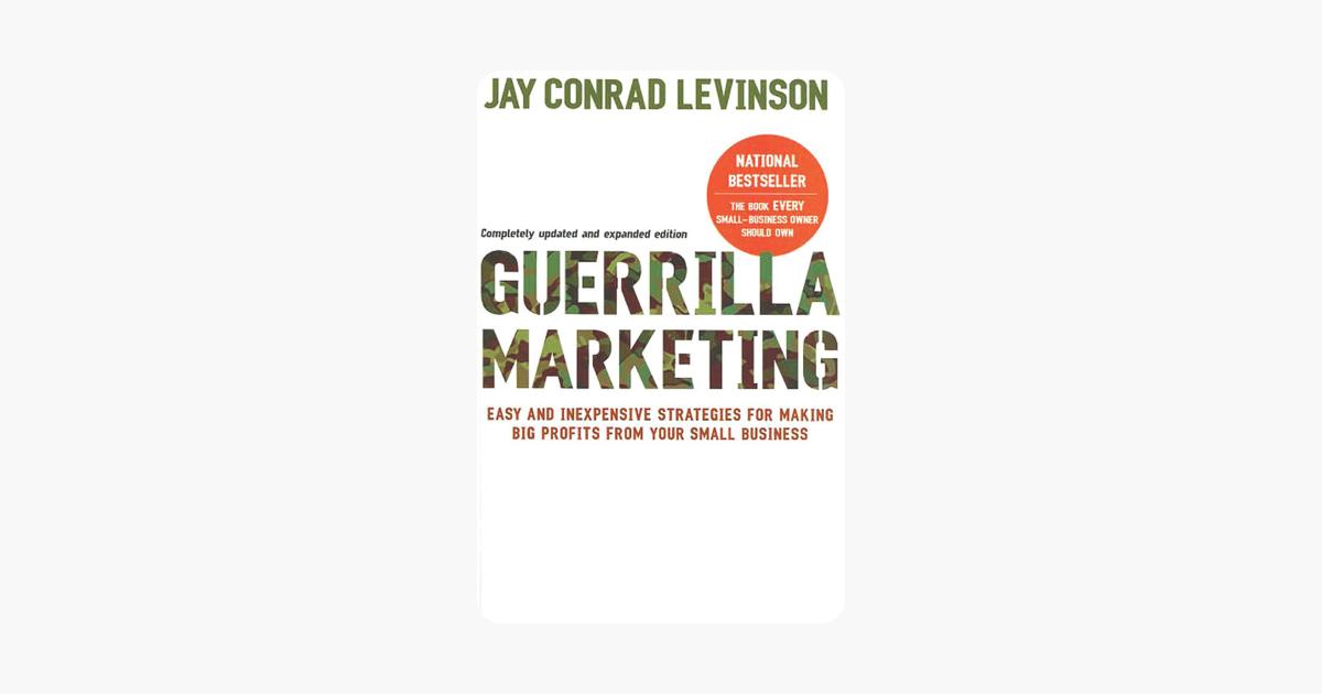 Guerrilla Marketing, 4th edition