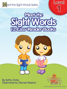 Meet the Sight Words Level 1 Easy Reader ... Summary