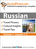 Russian Volume 1 - Survival Phrases (Enhanced Version)
