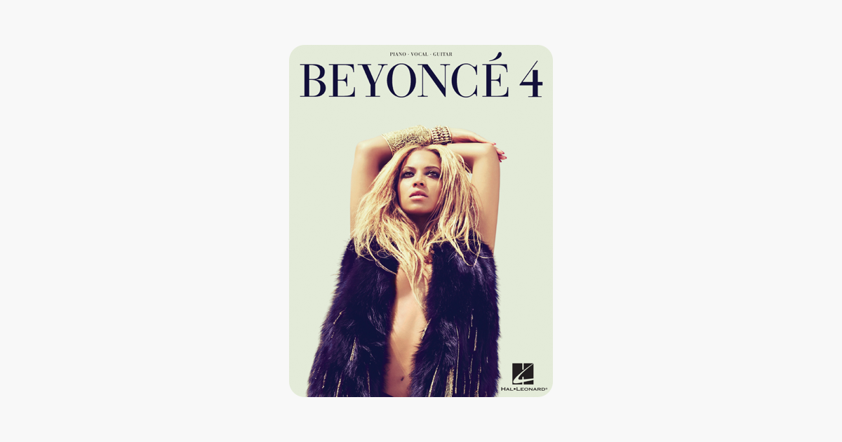 Beyonce - 4 - Piano/Vocal/Guitar Songbook