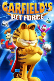 Garfield's Pet Force book
