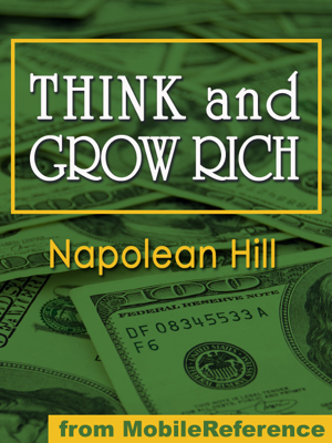 Think and Grow Rich - Napoleon Hill book