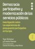 Yves Sintomer - Democracia participativa y modernización de los servicios públicos grafismos