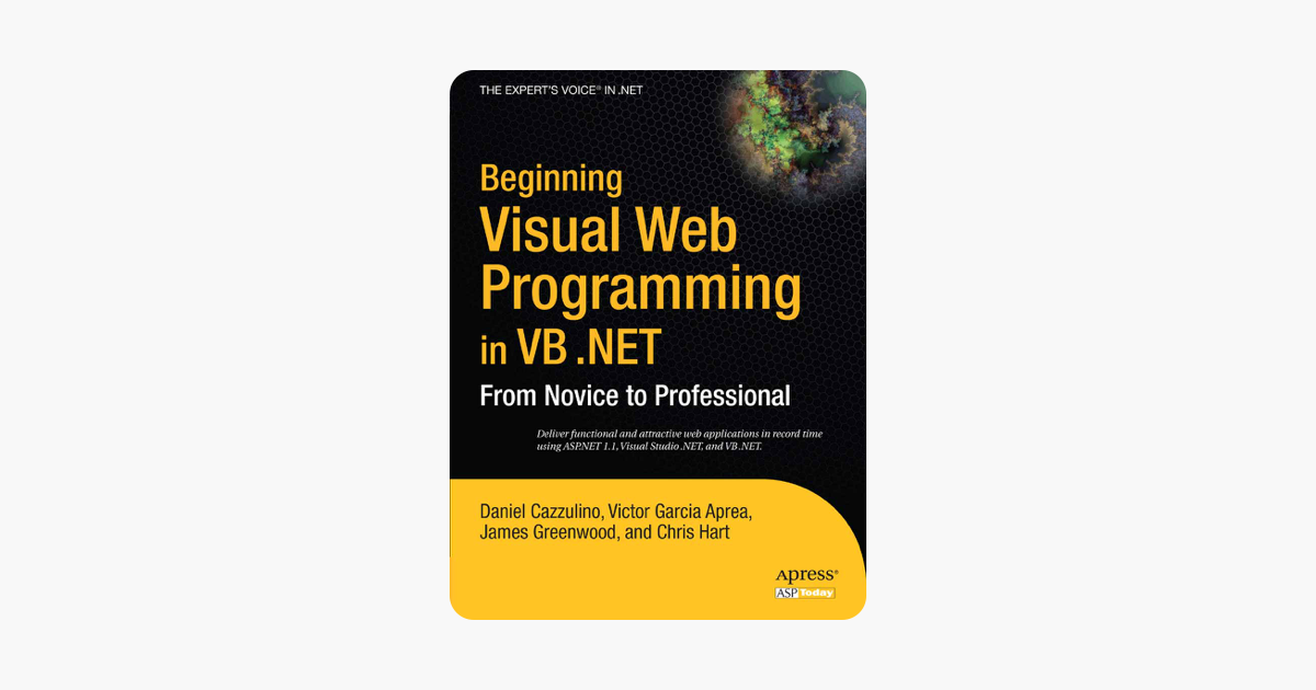 ‎Beginning Visual Web Programming in VB  NET