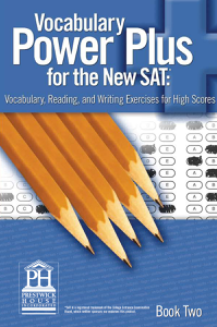 Vocabulary Power Plus for the New SAT - Book Two Summary
