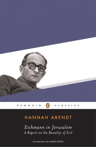 Eichmann in Jerusalem Libro Cover