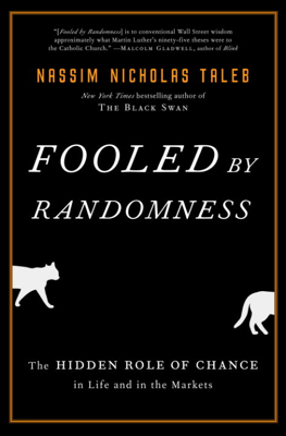 Fooled by Randomness - Nassim Nicholas Taleb book